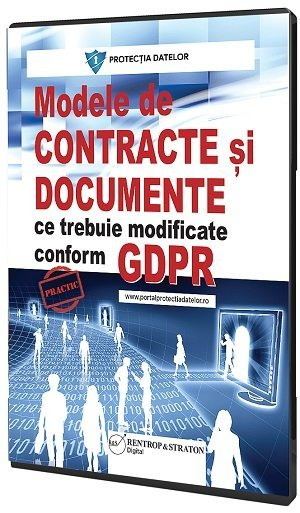 Modele de documente si contracte conform GDPR
