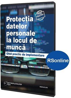 Protectia datelor personale la locul de munca