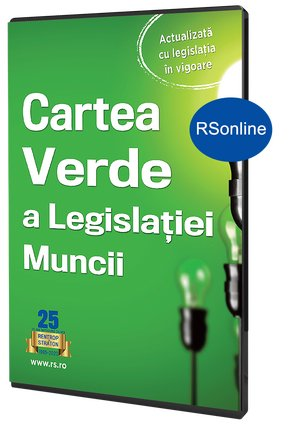 Cartea Verde a Legislatiei muncii