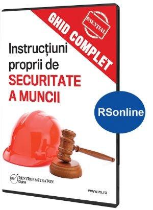 Ghid complet Instructiuni proprii de securitate a muncii