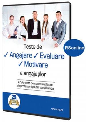 Teste de angajare, evaluare, motivare a angajatilor