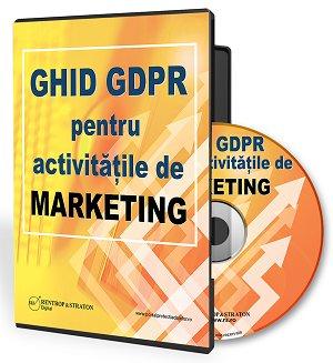 Ghid GDPR pentru activitati de marketing