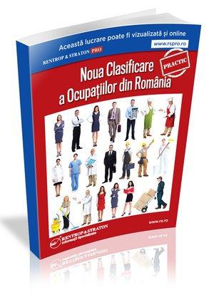 Noul COR - Clasificarea Ocupatiilor din Romania 2019