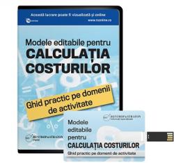 Modele editabile pentru Calculatia Costurilor