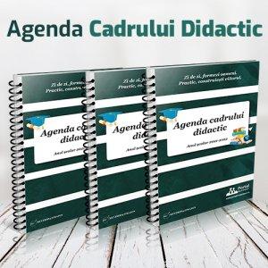 Pachet 3 ex. Agenda cadrului didactic