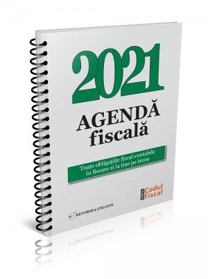 Agenda Fiscala 2021- format tiparit