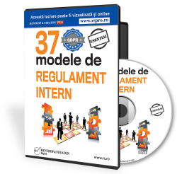 37 Modele Regulament Intern