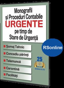 Monografii si Proceduri Contabile Urgente