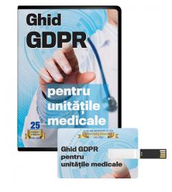 Comanda acum Ghidul practic GDPR pentru unitatile medicale