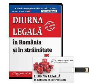 Diurna legala in Romania si in stainatate