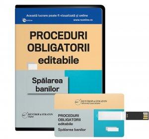 Proceduri obligatorii EDITABILE. Spalarea banilor - format STICK