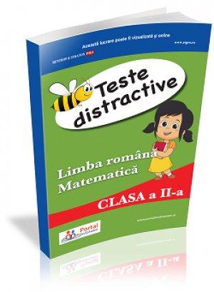 Teste distractive de Limba romana si Matematica pentru clasa a II-a
