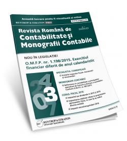 Revista Romana de Contabilitate si Monografii Contabile