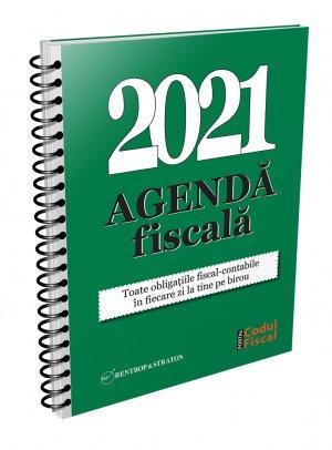 Agenda Fiscala pentru 2021 - format tiparit