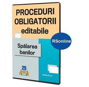 Proceduri Obligatorii. Spalarea banilor - format STICK