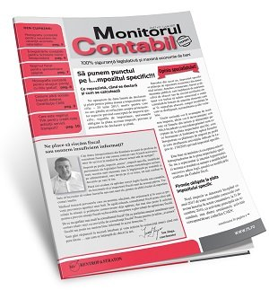 Monitorul Contabil (tiparit) - ABO 6 luni