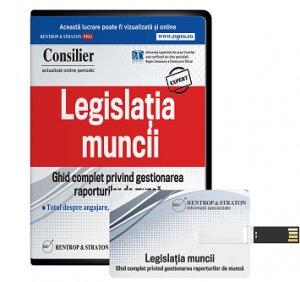 Consilier Legislatia Muncii (stick) - ABO 6 luni