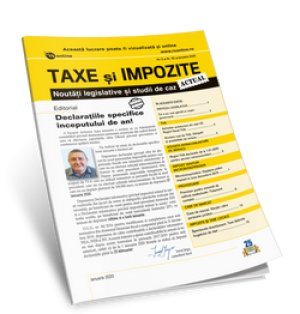 Taxe si impozite Actual (tiparit) - ABO 6 luni
