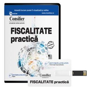 Consilier Fiscalitate practica (stick) - ABO 6 luni