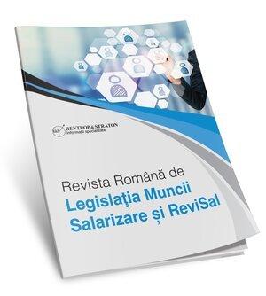 Revista Romana de Legislatia Muncii, Salarizare si ReviSal (tiparita) - ABO 6 luni