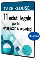 Taxe reduse - 11 solutii legale pentru angajatori