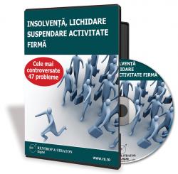 CD Insolventa, Lichidare, Suspendare activitate firma