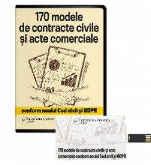 170 de modele de contracte civile si acte comerciale, conforme cu Noul Cod civil