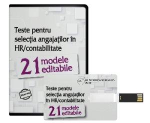 21 modele editabile de teste pentru selectia angajatilor in HR/contabilitate