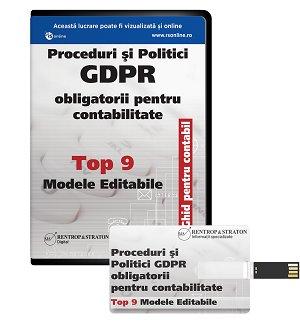 Top 9 politici si proceduri GDPR pentru contabili