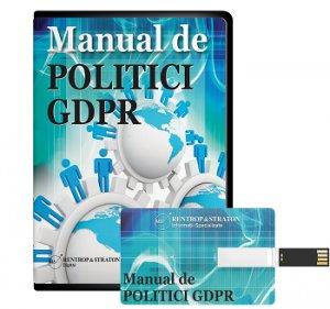 Manual de politici GDPR