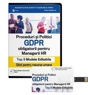 Top 9 proceduri si politici GDPR pentru HR