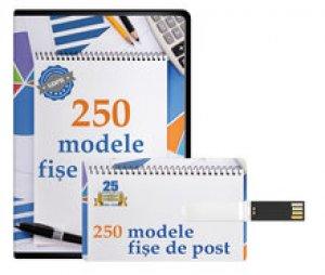 250 Modele de Fise de Post - actualizate conform GDPR