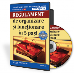Regulamentul de organizare si functionare in 5 pasi