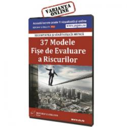 37 Modele de Fise de evaluare a riscurilor