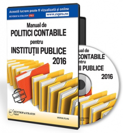 politici contabile institutii publice
